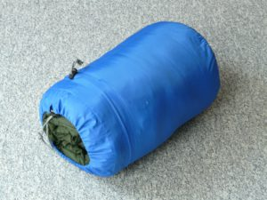 Top 9 Best sleeping bags in 2019 - Sleeping bag packed