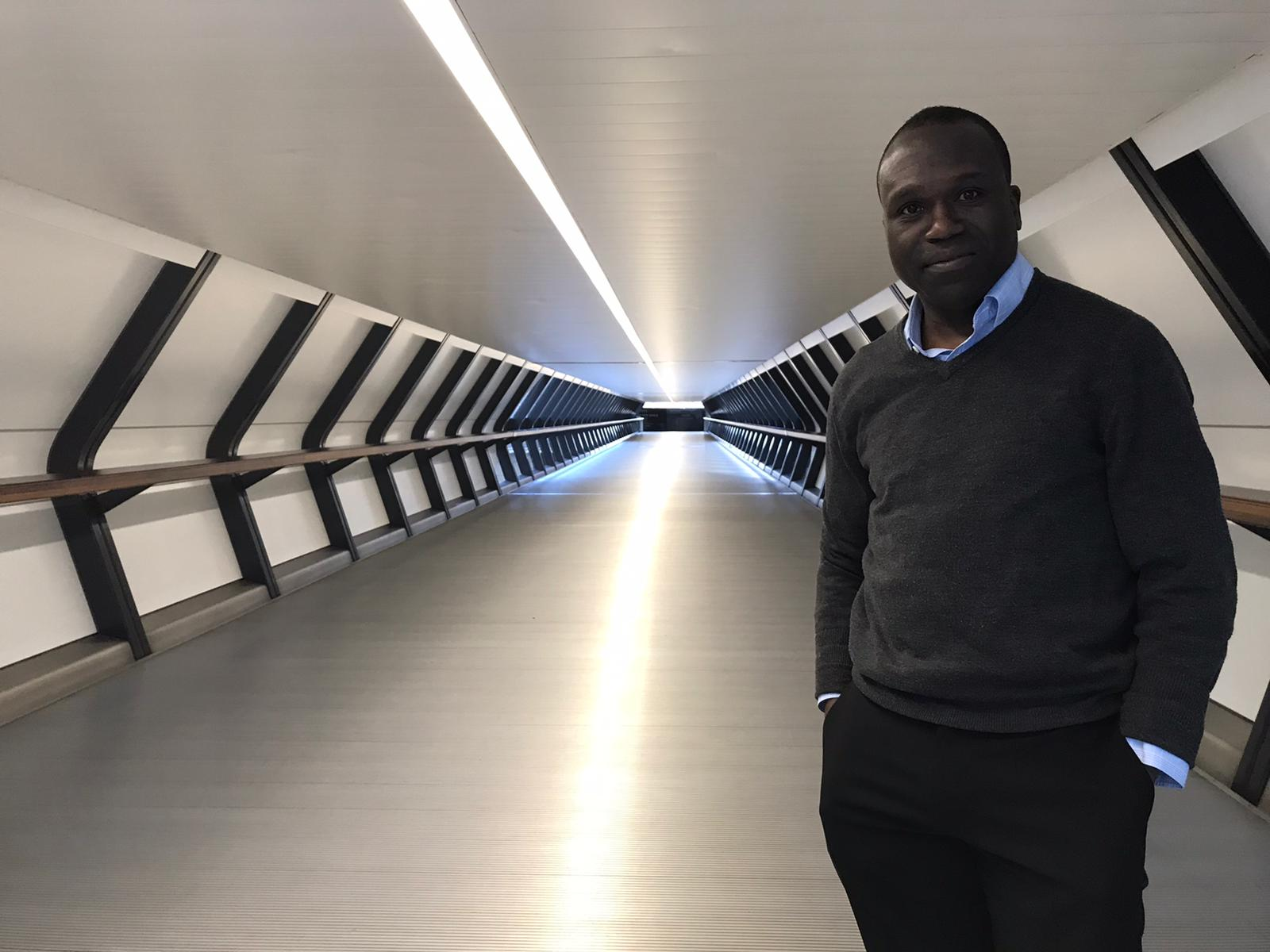 Insights the on Best Travel Accessories in 2020 : Femi at Crossrail place
