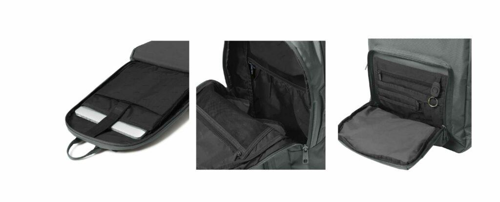 Calpack Luggage Review: Glenroe Backpack inside 2