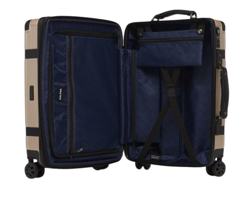 Calpack Luggage Review: Trnk carry on inside