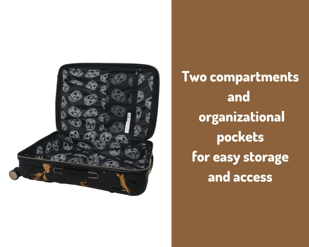 IT Luggage Skulls II Review: storage
