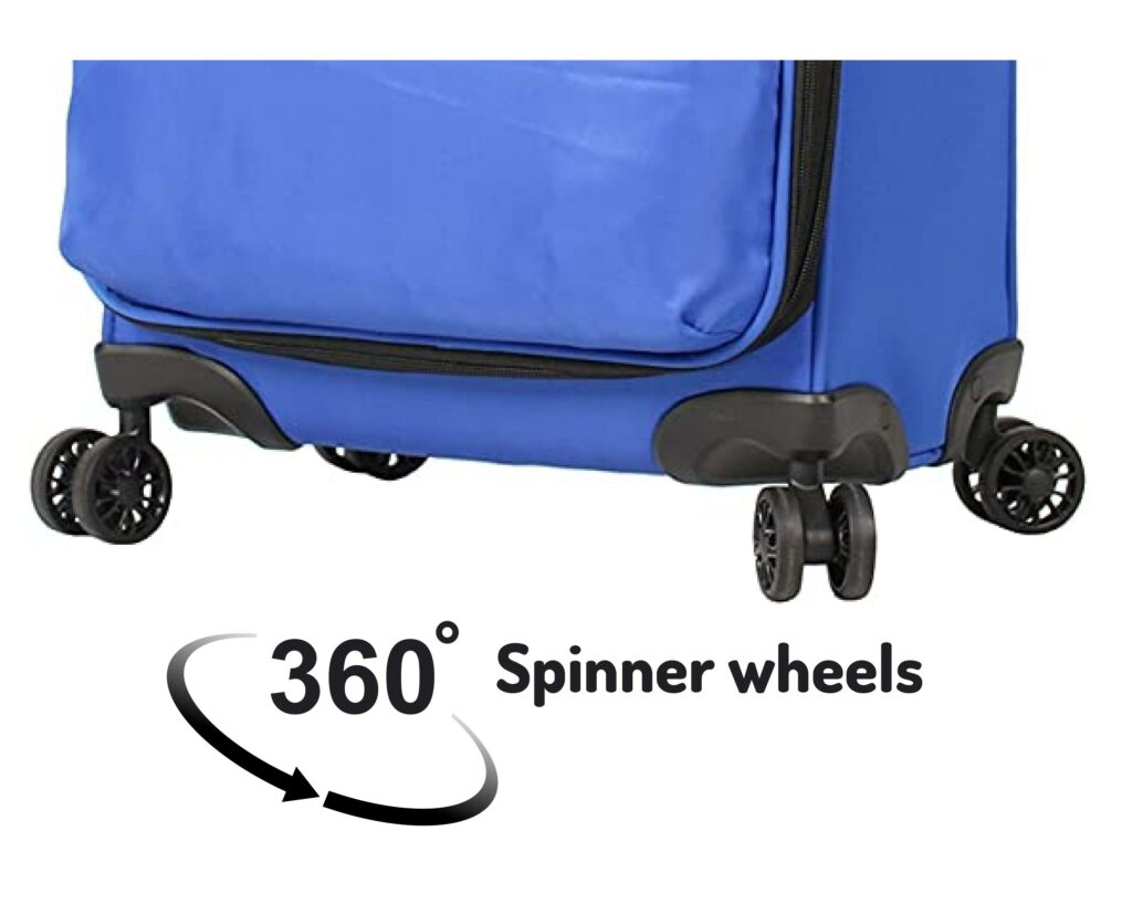 Lucas Luggage Review: Lucas Ultra light 360 spinner wheels