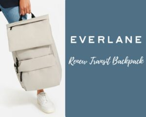 Everlane Renew Transit Backpack Review: feature image