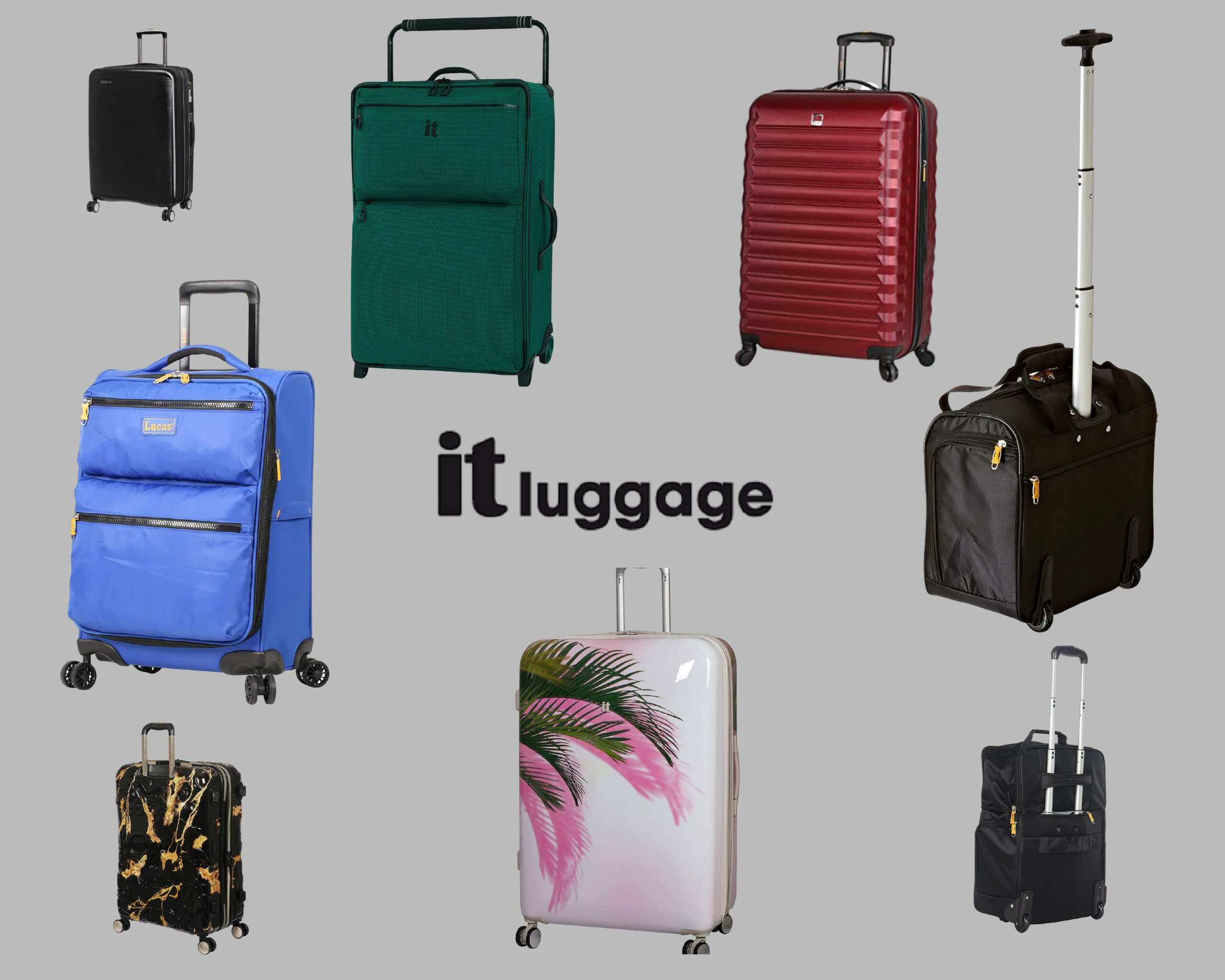 IT Luggage Review: feature grey