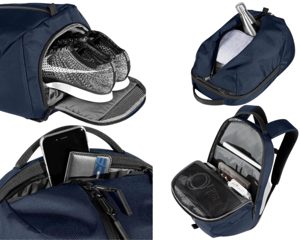 AER Fit Pack 2 review: storage compartment