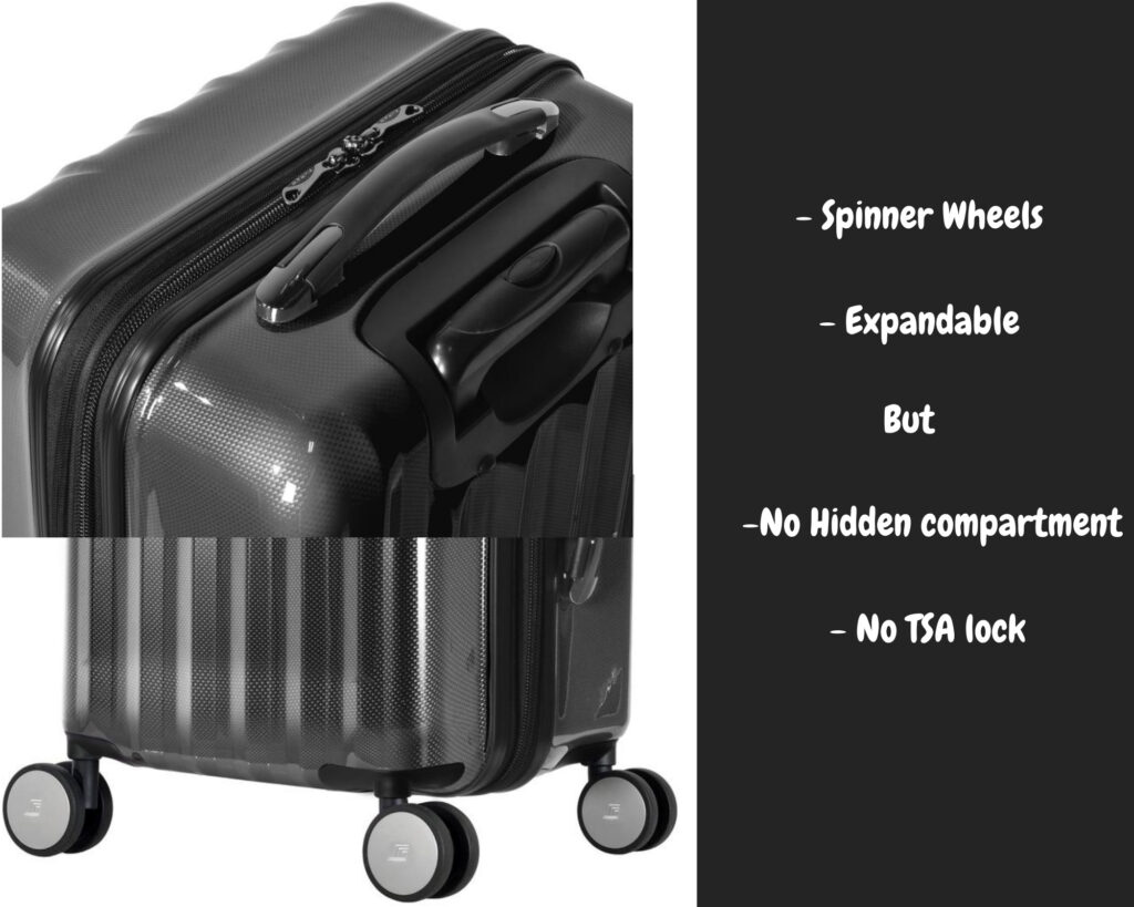 Olympia luggage review: Olympia Titan