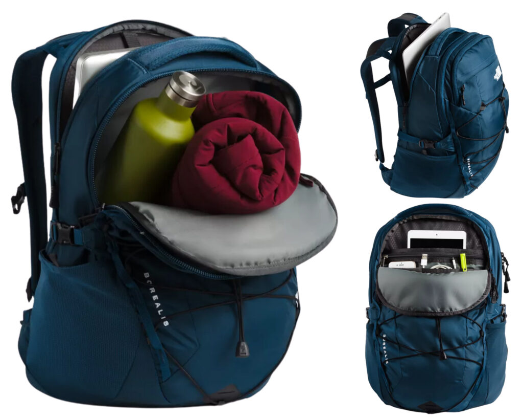 The North Face Borealis Backpack review: Storage compartments