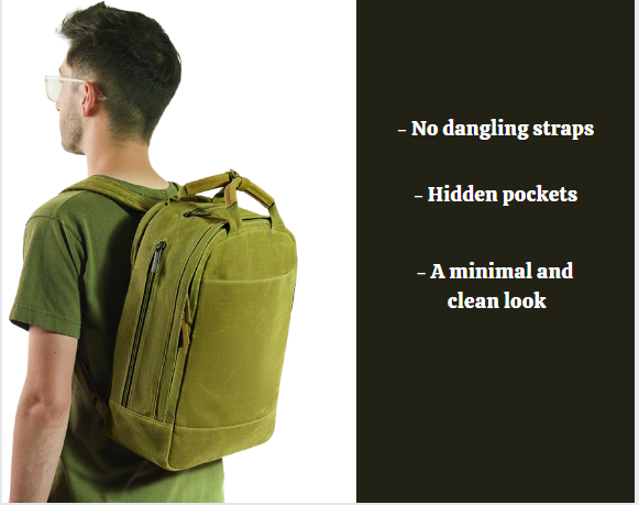 Day Owl backpack review: Day Owl on a model