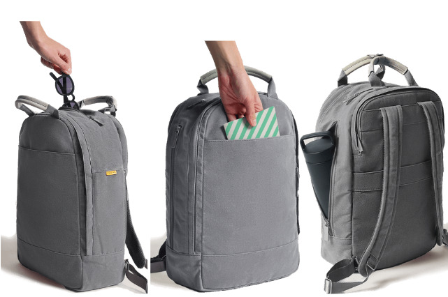 Day Owl backpack review: Storage compartment