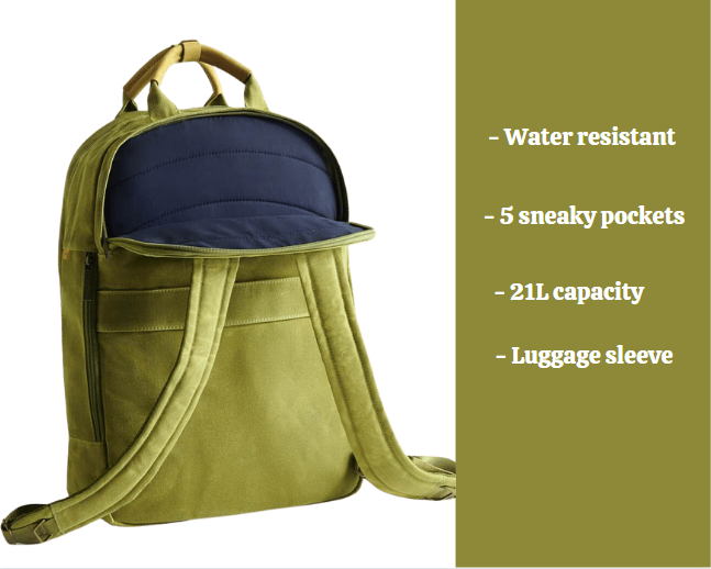 Day Owl backpack review: Day Owl features