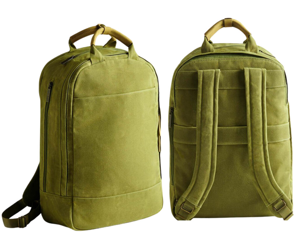 Day Owl backpack review: Day Owl front and back view