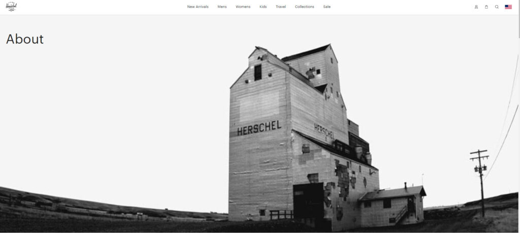 Herschel Little America Backpack Review: about us image of Herschel factory