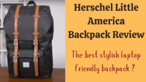 Herschel Little America Backpack Review: feature image of bag on table