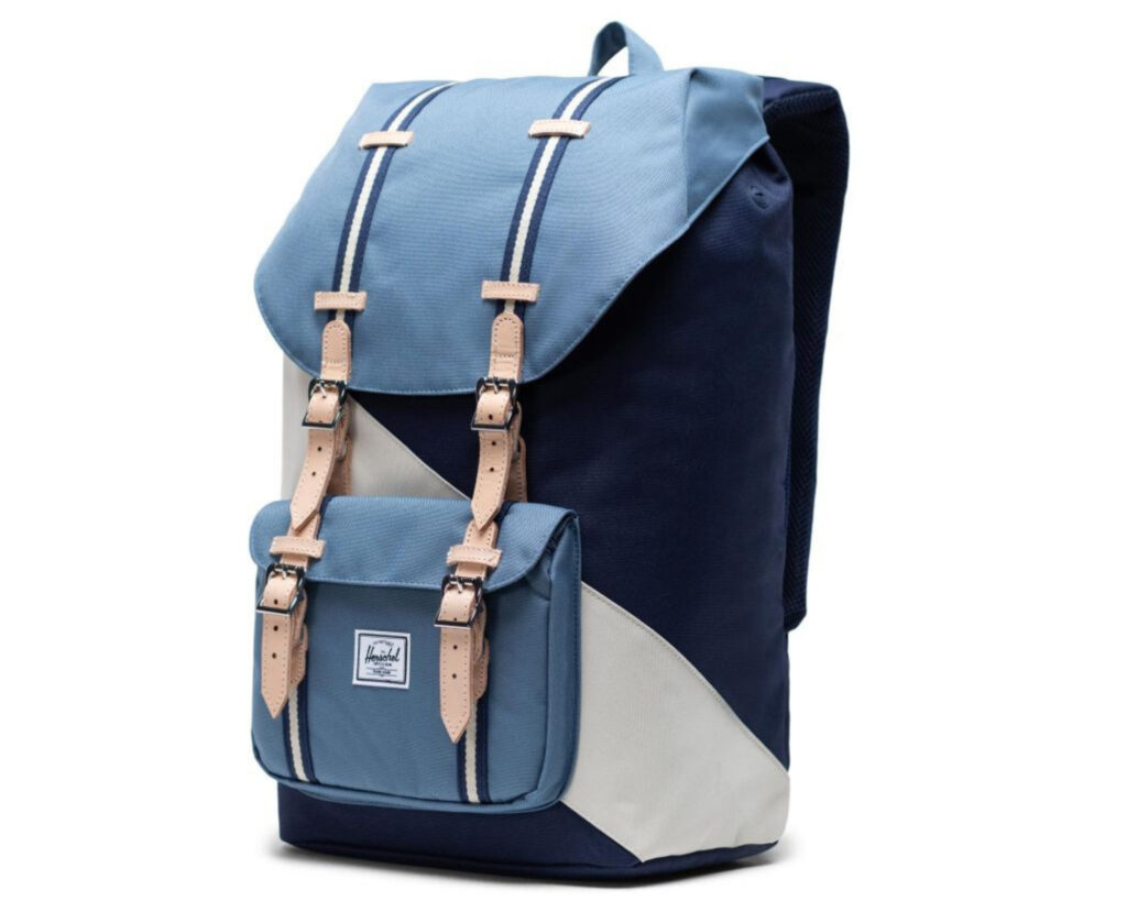 Herschel Little America Backpack Review: Little America backpack side view