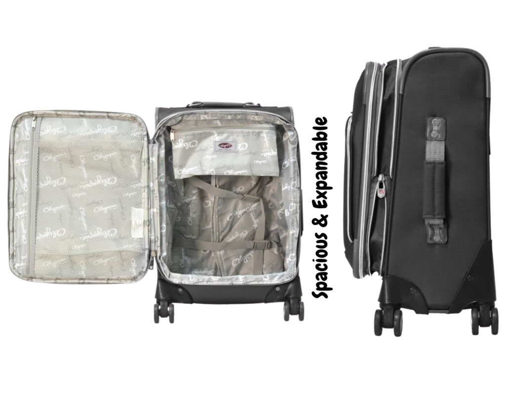 Olympia luggage review: Olympia Tuscany