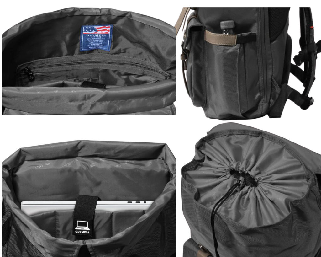 Olympia luggage review: Olympia Hopkin Backpack
