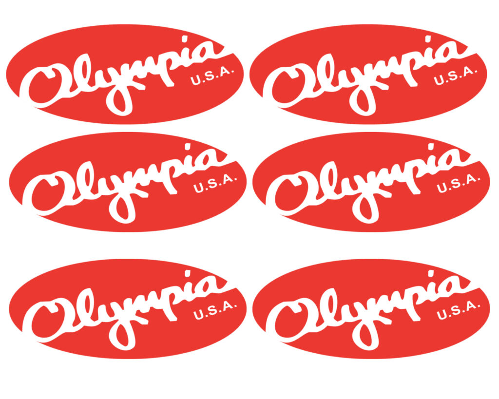 Olympia luggage review: Olympia logo