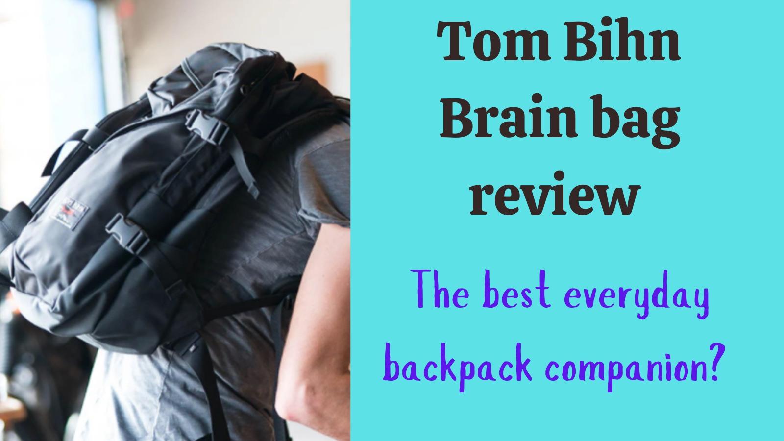 Tom Bihn Brain bag review: feature image