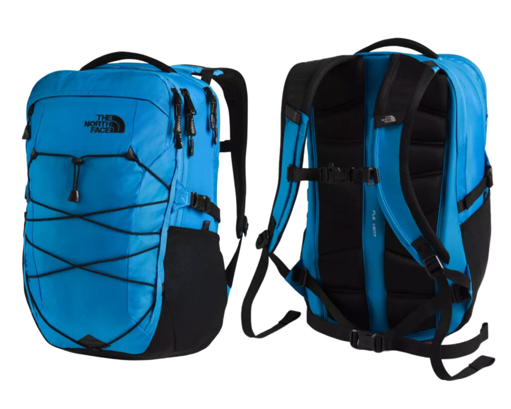 The North Face Borealis Backpack review: Clear lake blue