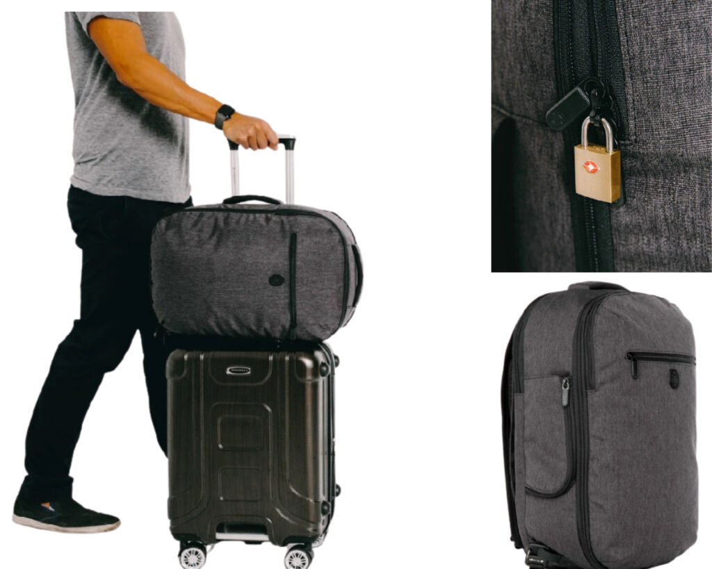Tortuga Setout Laptop Backpack Review: Tortuga features