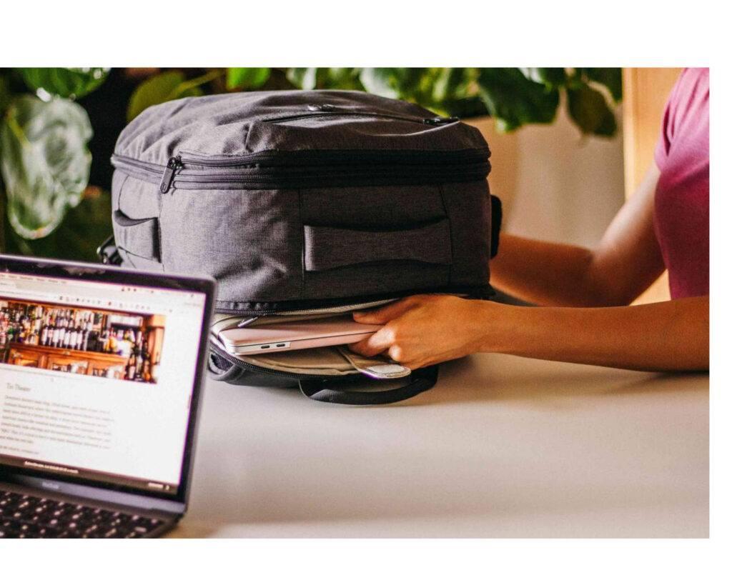 Tortuga Setout Laptop Backpack Review: Tortuga storage