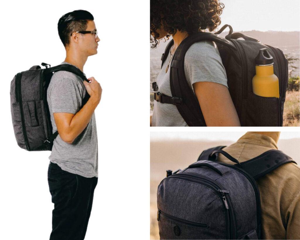 Tortuga Setout Laptop Backpack Review: Tortuga on models
