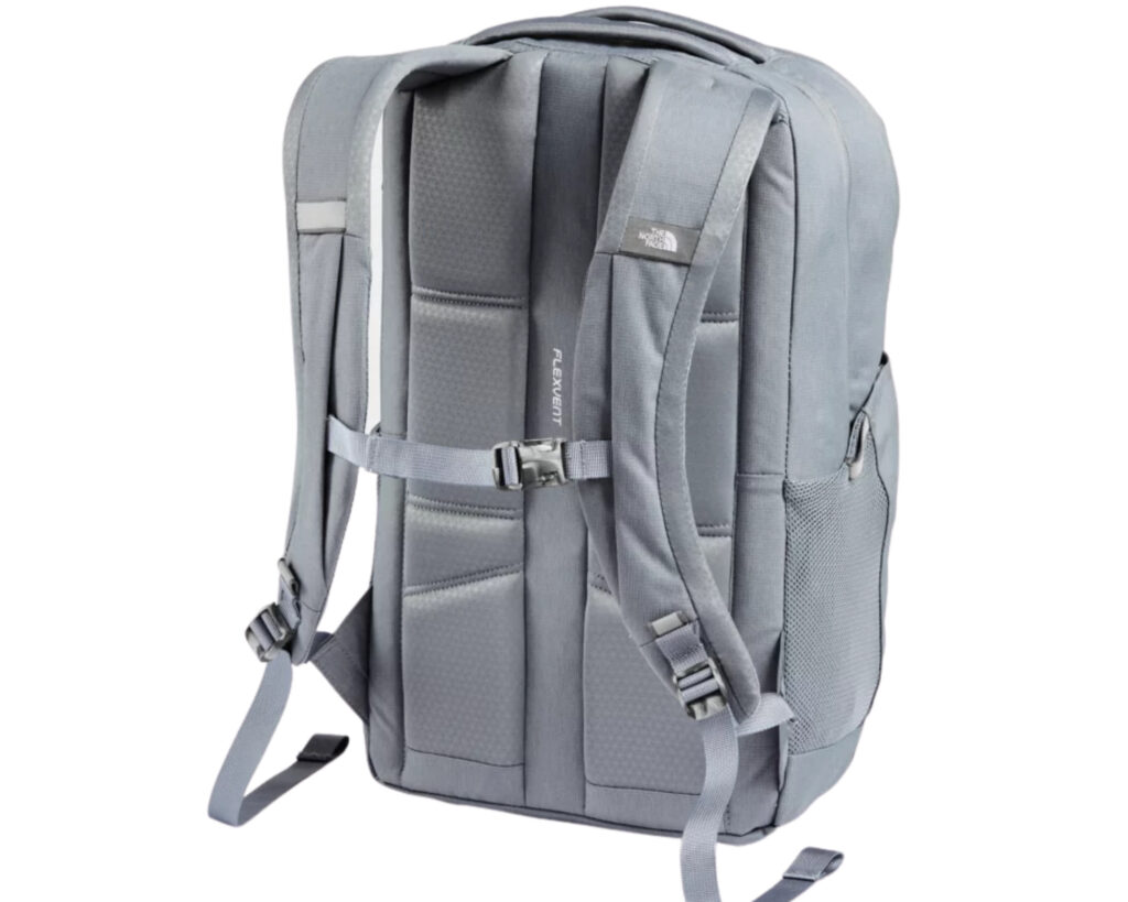 The North Face Jester backpack review: The Jester pack back view