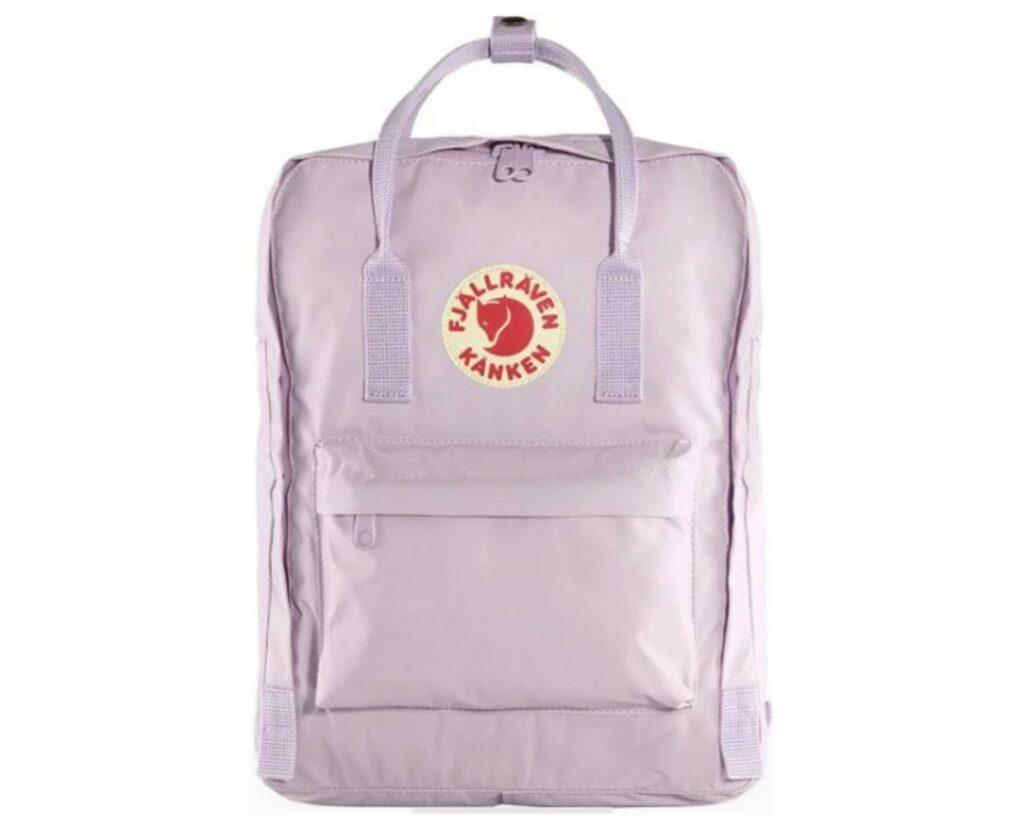 Fjallraven Kanken backpack review: Fjallraven Kanken pastel lavender