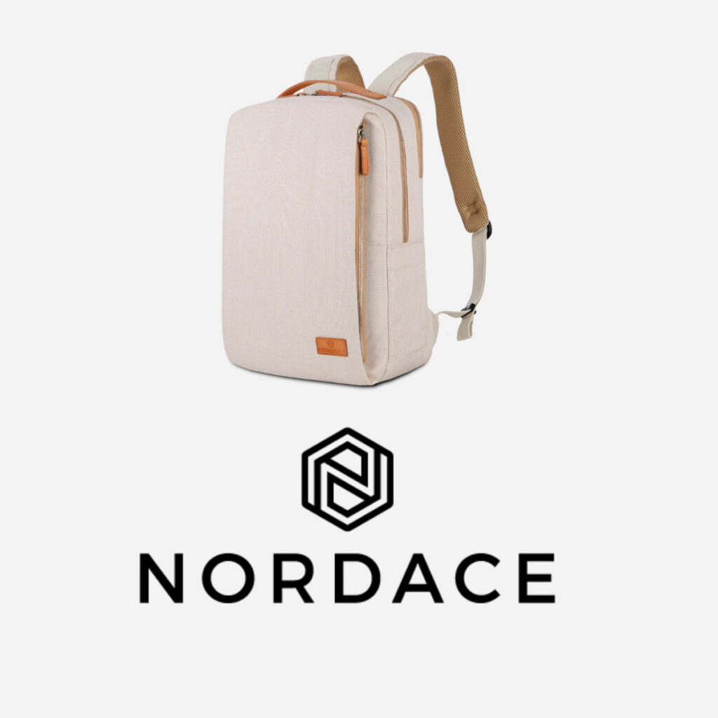 Nordace Siena Backpack review: Brand Logo