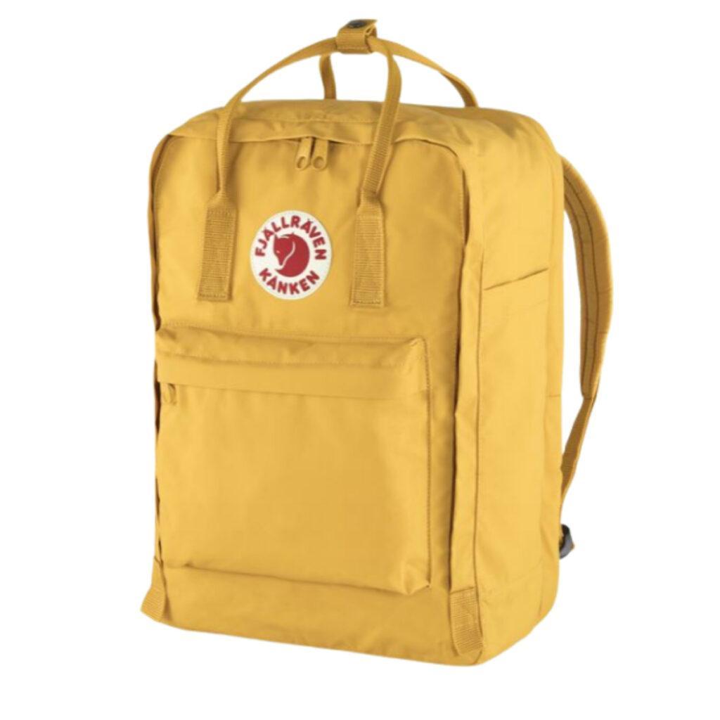 Fjallraven Kanken backpack review: logo and bag