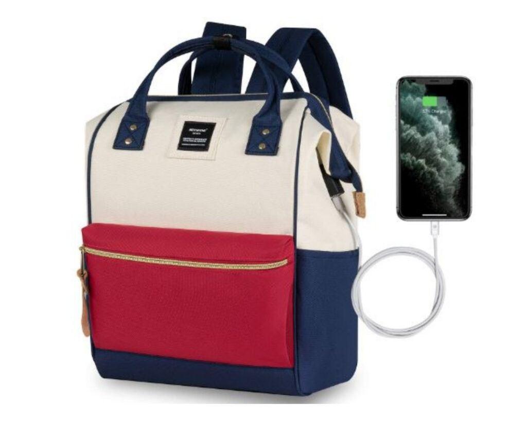 Backpacks with hidden pockets reviews: Hethrone Women's Antitheft Laptop Backpack