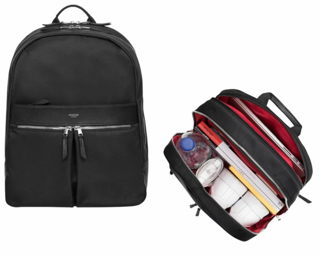 Backpacks with Lots of Pockets and Compartments: Knomo Beauchamp Business Backpack
