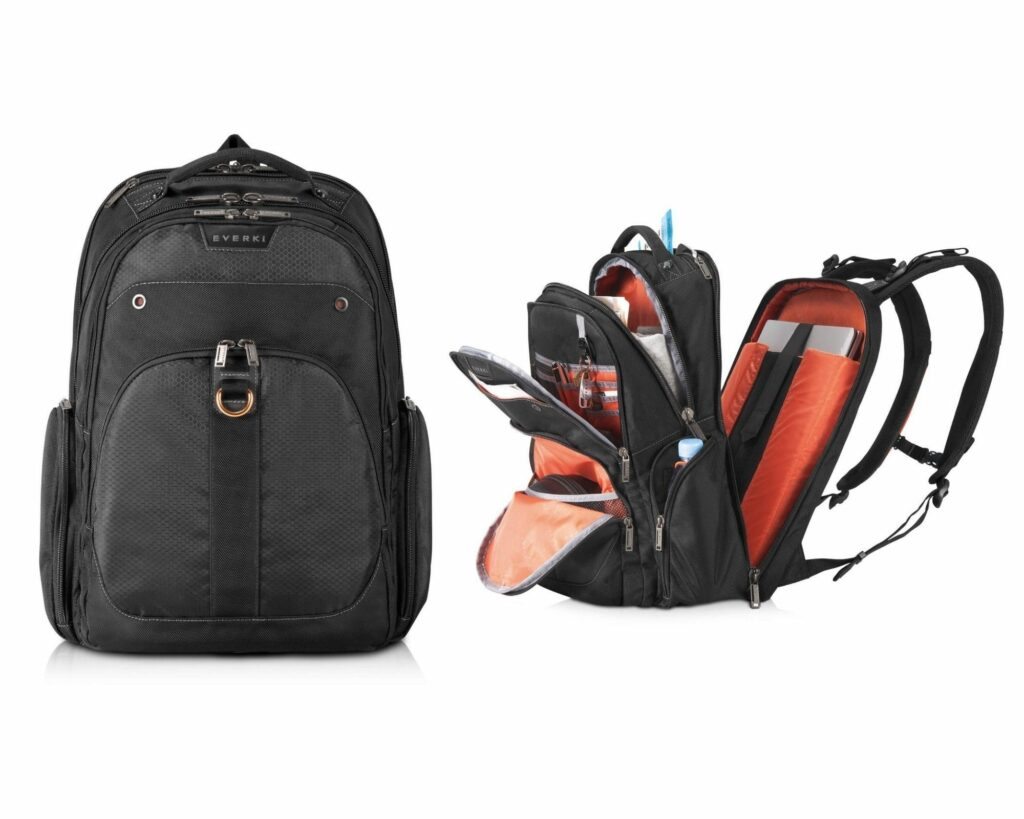 Backpacks with Lots of Pockets and Compartments: Everki Atlas Laptop Backpack