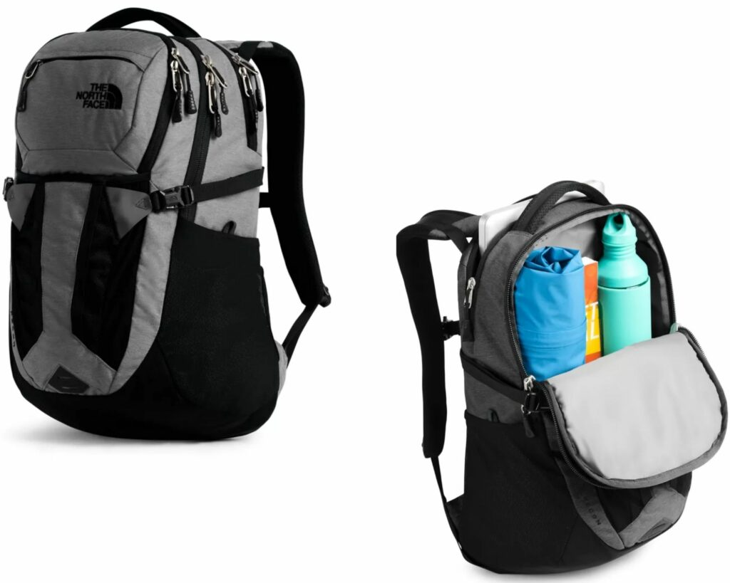 Backpacks with Lots of Pockets and Compartments: The North Face Recon Backpack