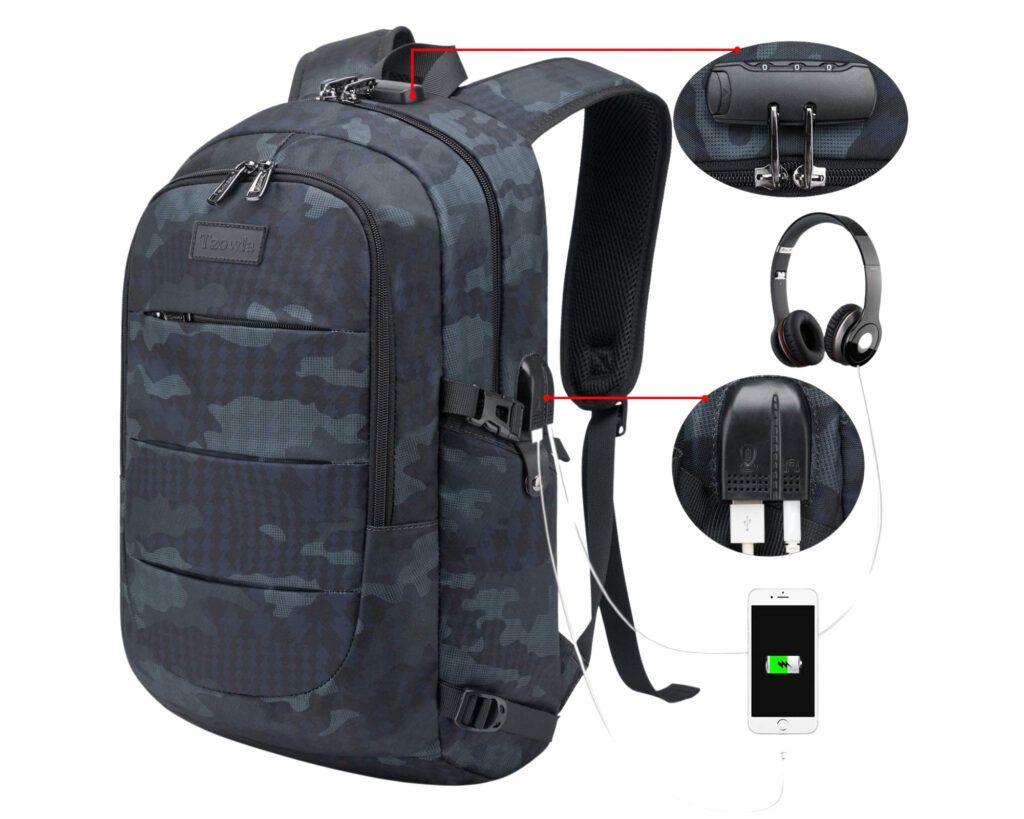 Backpacks similar to Nordace Siena: Tzowla Business Laptop Backpack