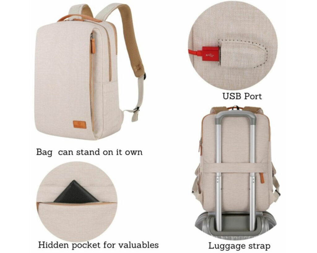 Backpacks similar to Nordace Siena review: The Nordace Siena backpack with features