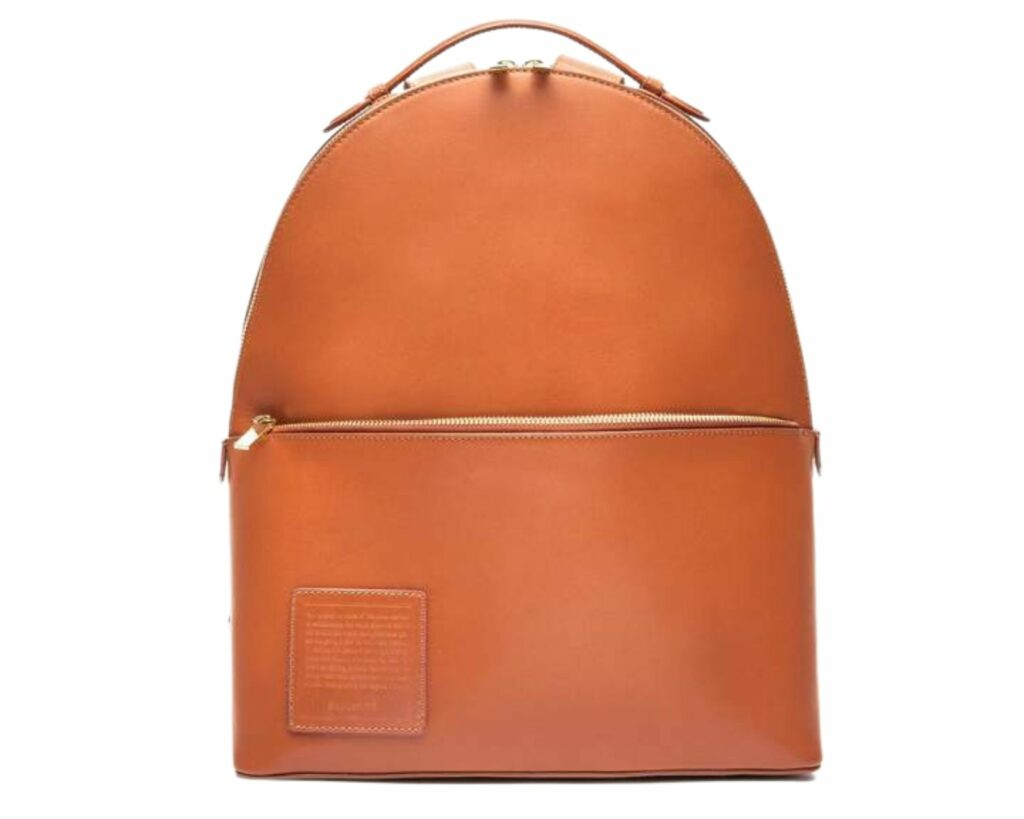 Eco friendly backpacks review: Opus Mind Terracotta backpack