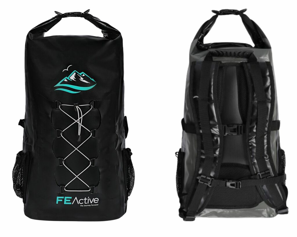 Are the North Face backpacks Waterproof: FeActive Cloudbreaker 30L Dry bag