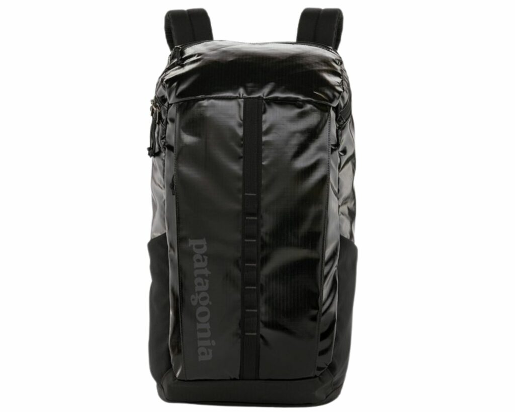 Eco friendly backpack reviews: Patagonia Black Hole Pack