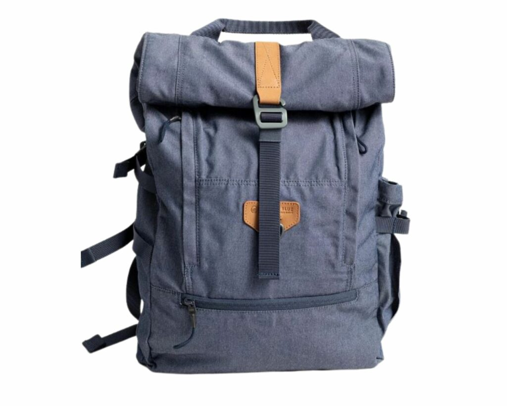 Eco friendly backpack review: Westward 23L Rolltop backpack