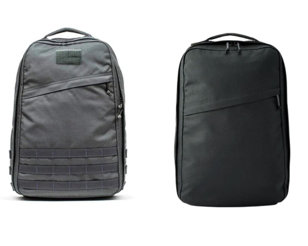 Best Everyday Carry Backpack review: Goruck GR1 USA OR GRI 1000D SLICK (Huckberry Edition)
