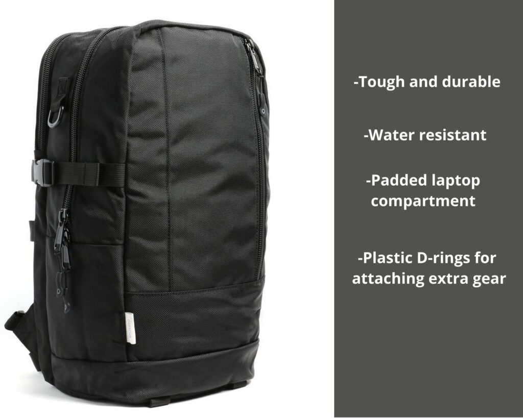 DPTCH Daypack Review: The DSPTCH Daypack with features
