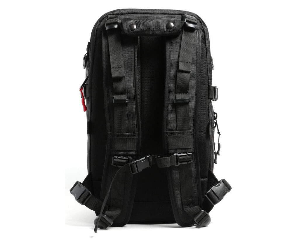 DPTCH Daypack Review: The DSPTCH Daypack back view
