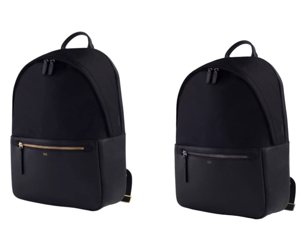 ISM Backpack Review: The ISM Backpack black and gold