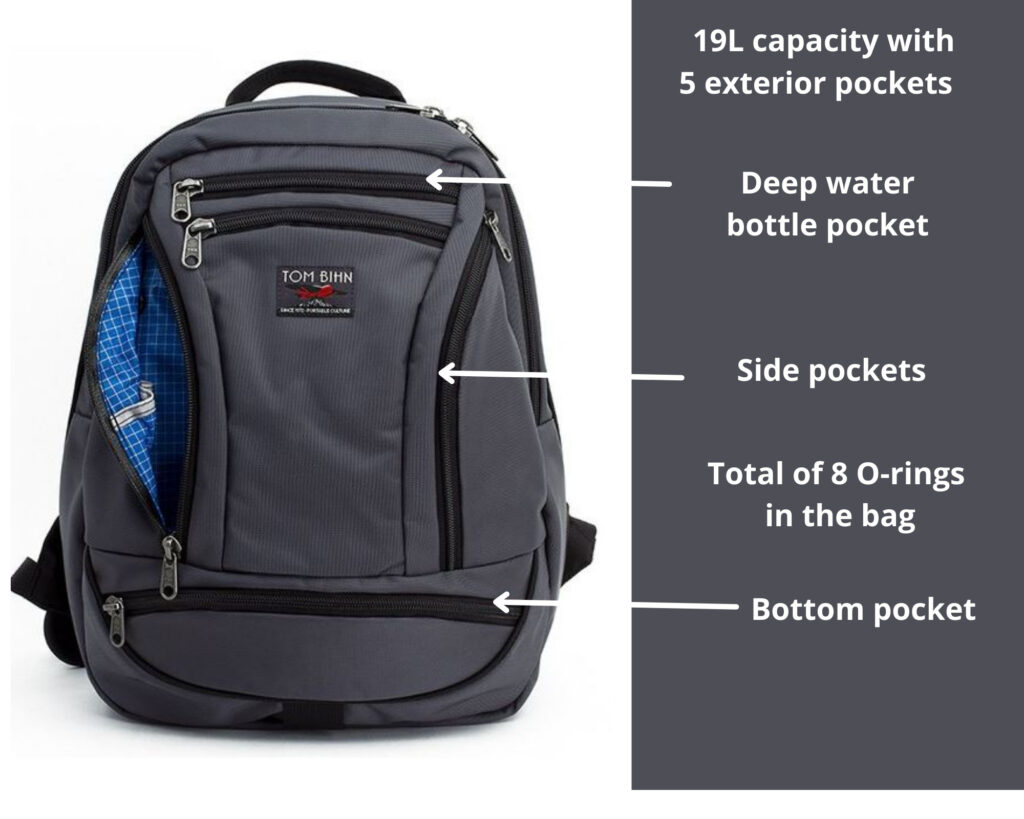 Tom Bihn Synapse 19 review: The Tom Bihn Synapse 19 backpack with features