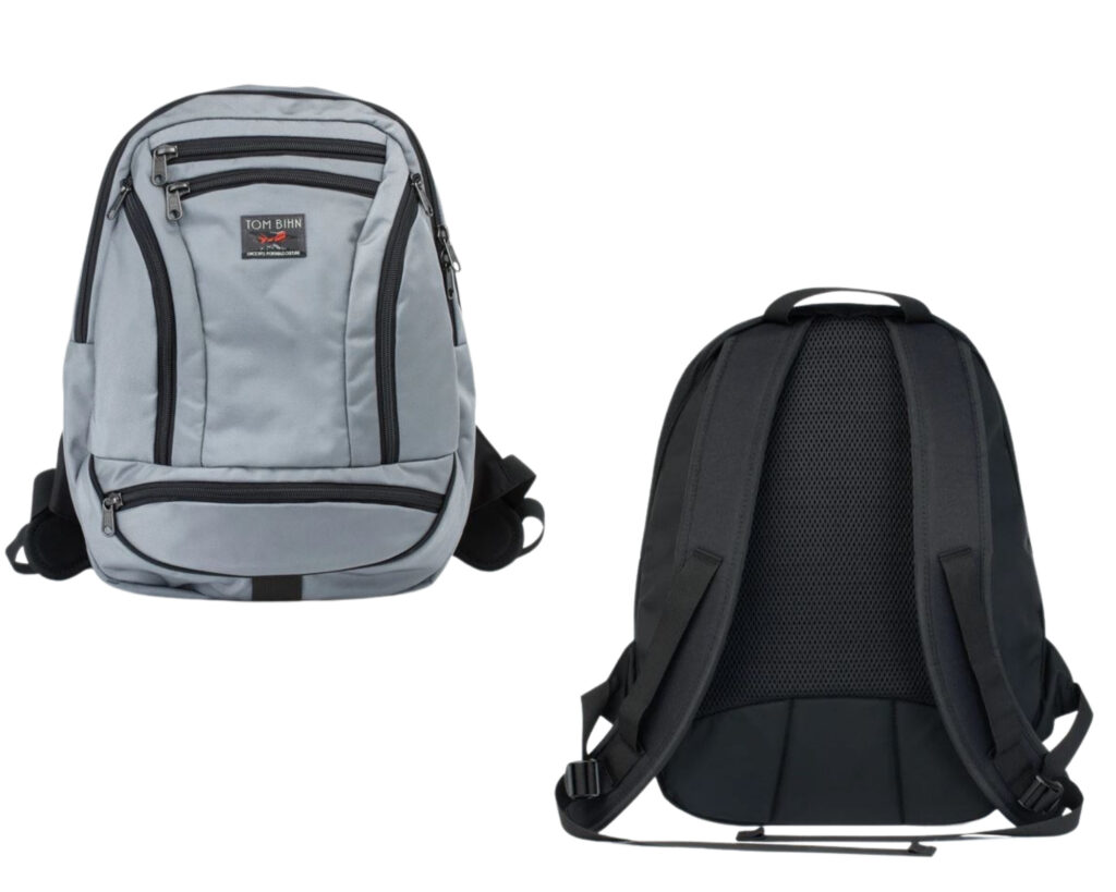 Tom Bihn Synapse 19 review: The Tom Bihn Synapse 19 backpack front and back view