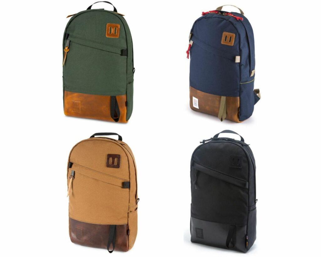 Topo Designs Daypack Review: Topo Designs leather Daypacks