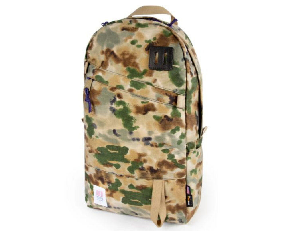 Topo Designs Daypack Review: Topo Designs Daypack side view