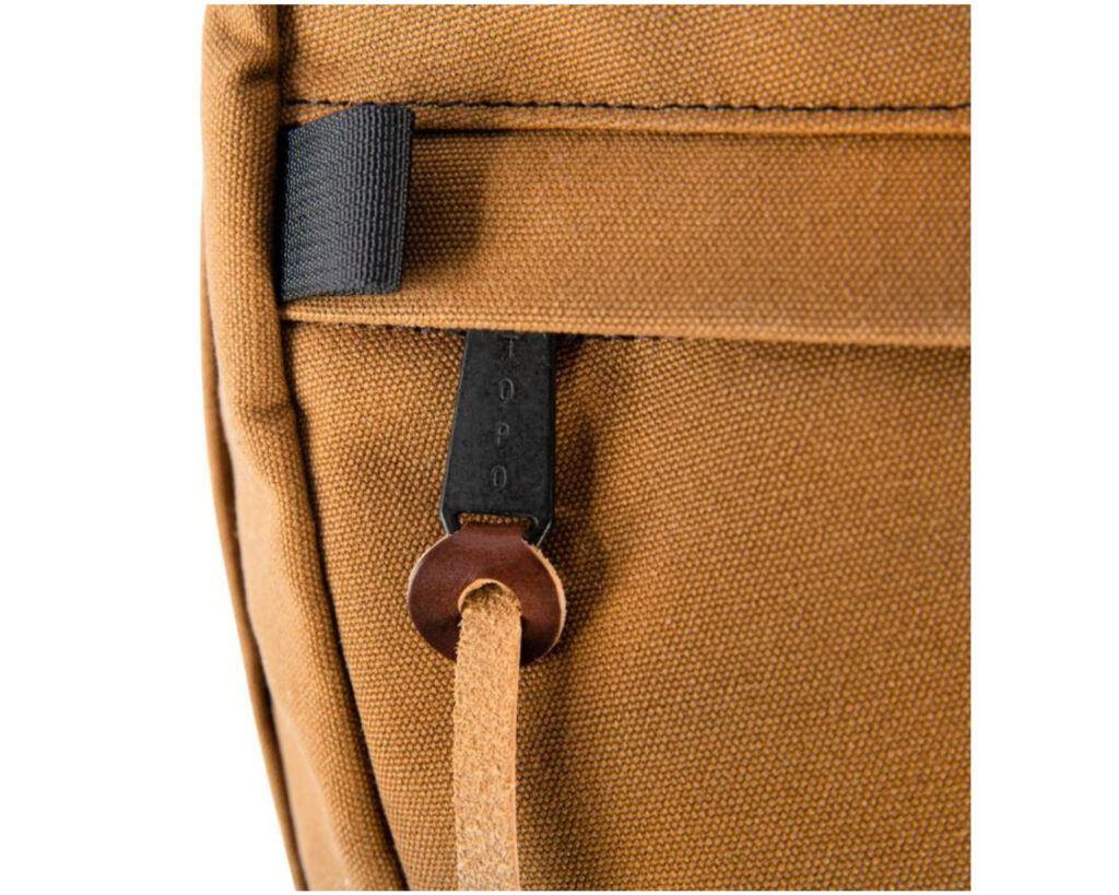 Topo Designs Daypack Review: Topo Designs Daypack attachment loop