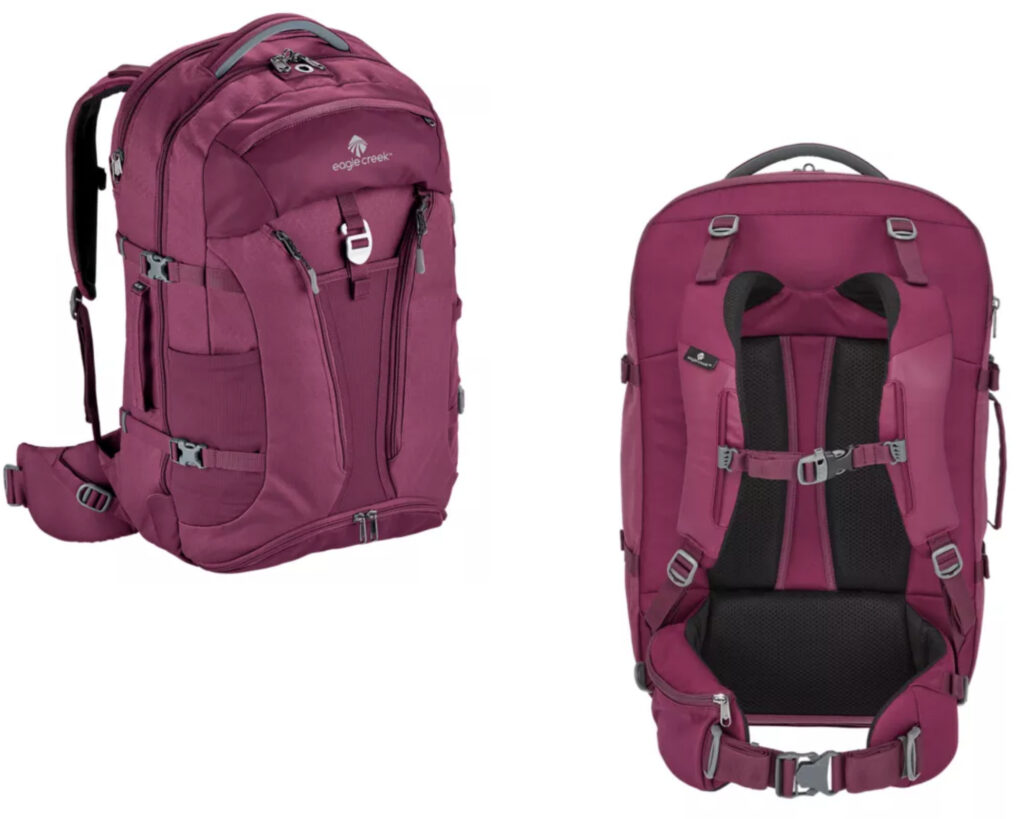 Best backpacks for backpain review: 3. Eagle Creek Global Companion for women